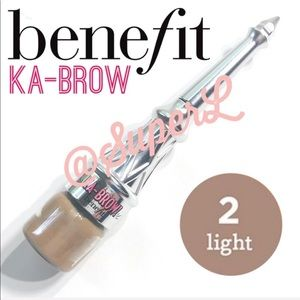 2/$20 Benefit Ka-BROW Cream Eye Brow Brush 2 Light